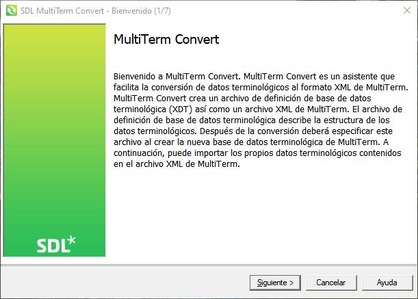 Cómo convertir un glosario de Excel a Multiterm